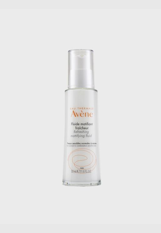 Refreshing Mattifying Fluid - For Normal to Combination Sensitive Skin