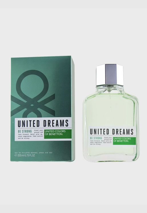 United Dreams Be Strong ماء تواليت سبراي