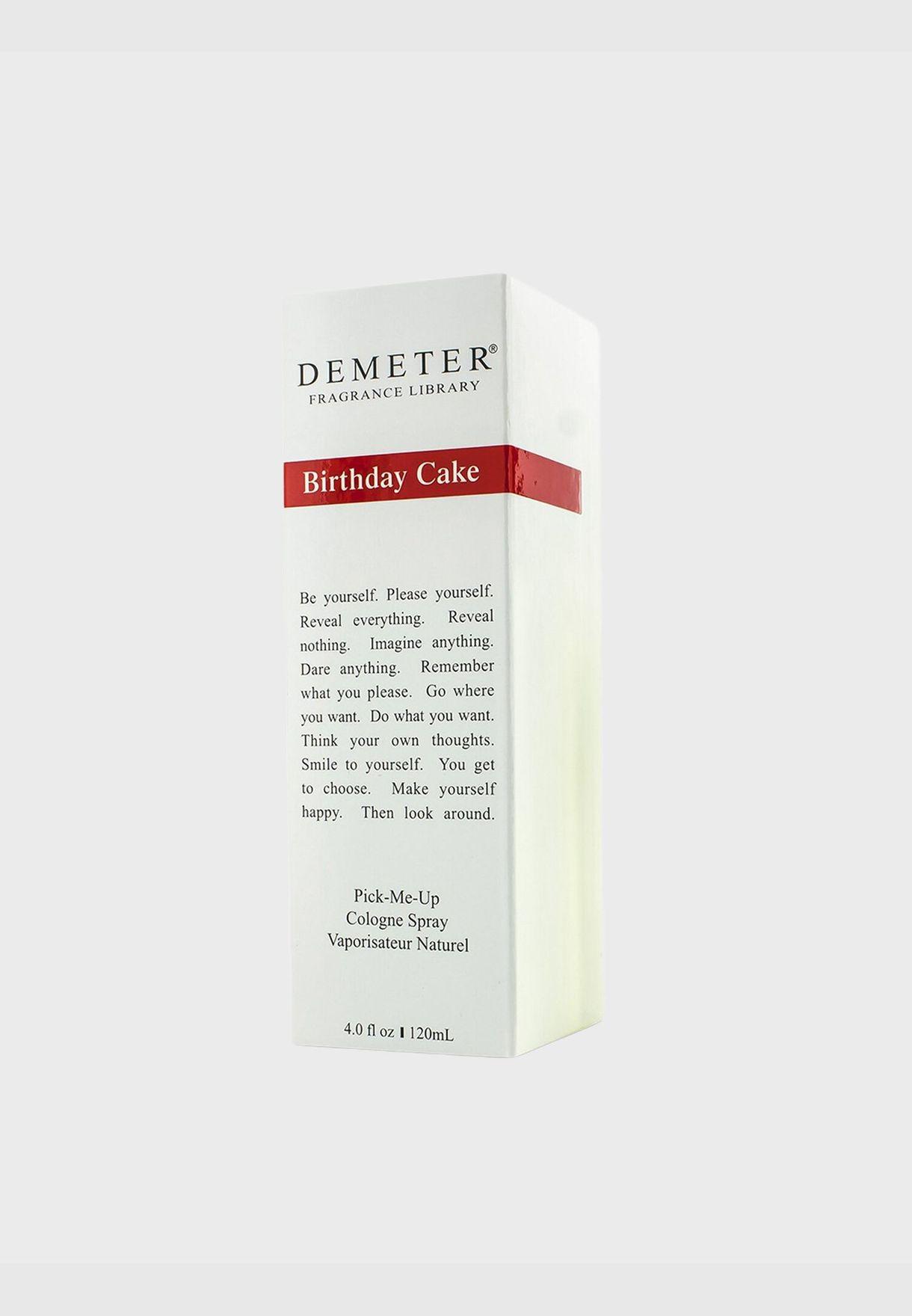 Birthday Cake Cologne Spray