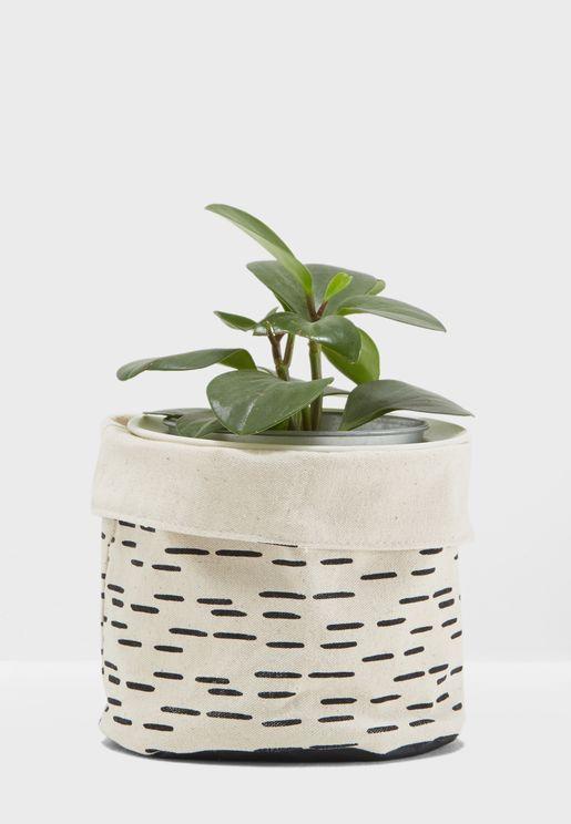 Cotton Plant Pot Cover