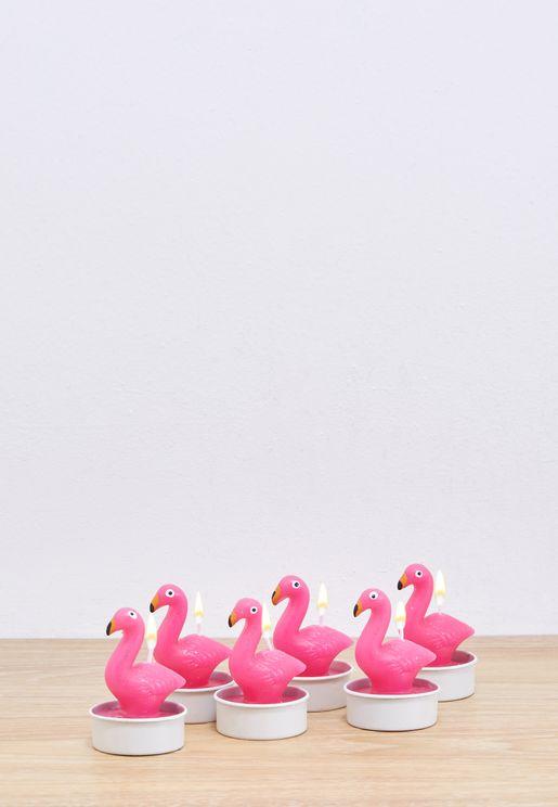 Flamingo Tea Lights