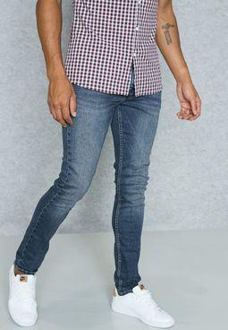 Vintage Skinny Fit Jeans