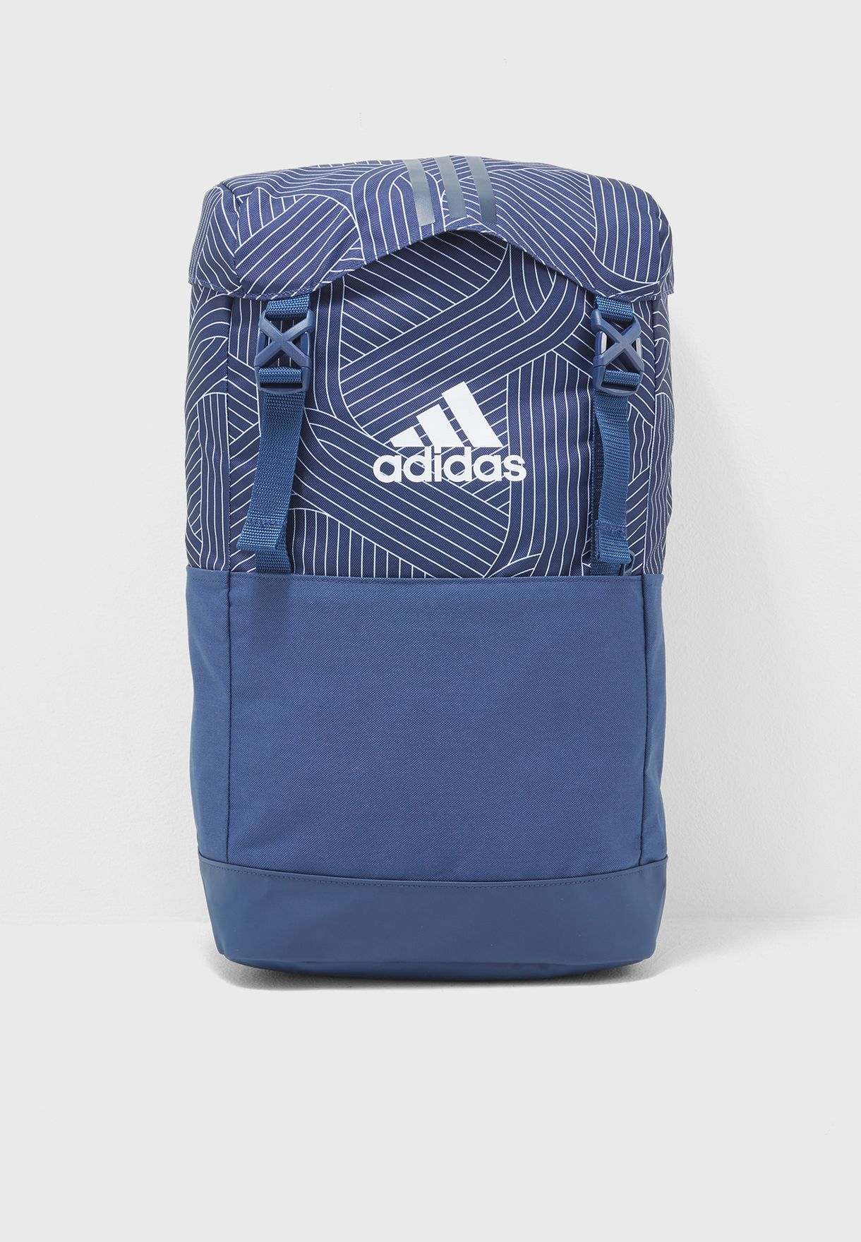 Shop adidas navy 3 Stripe Backpack CF3364 for Men in Kuwait ... 8f7ddde14e0ca