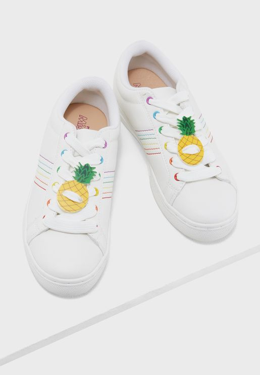 Pineapple Shoelace Charms