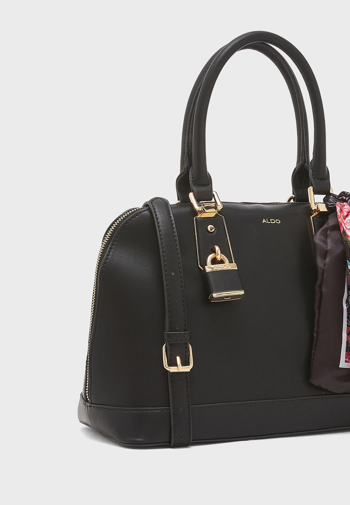 38f08e2b6da Shop Aldo black Yilari Satchel YILARI98 for Women in Saudi ...