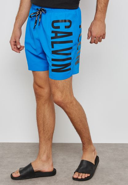 Drawstring Swimwear Shorts
