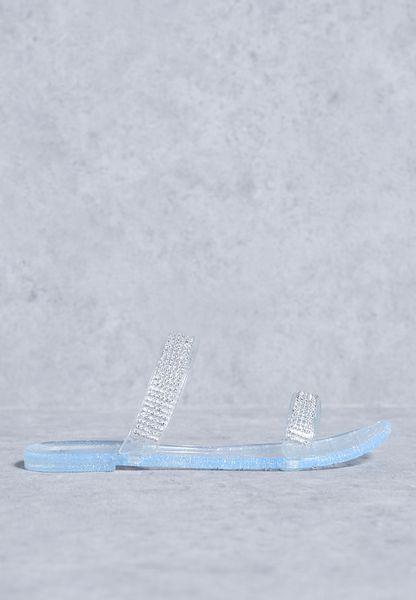 Diamante Band Sandals