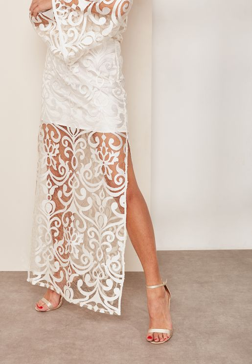 Lace Maxi Skirt