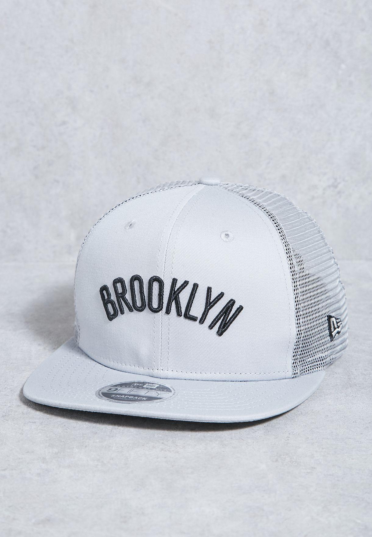 177f2c97796 Shop New Era grey 9Fifty Brooklyn Nets Cap 80489015 for Men in Kuwait -  NE207AC08PEH