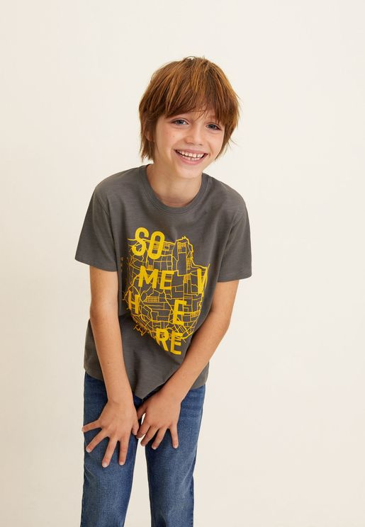 Kids City Graphic T-Shirt