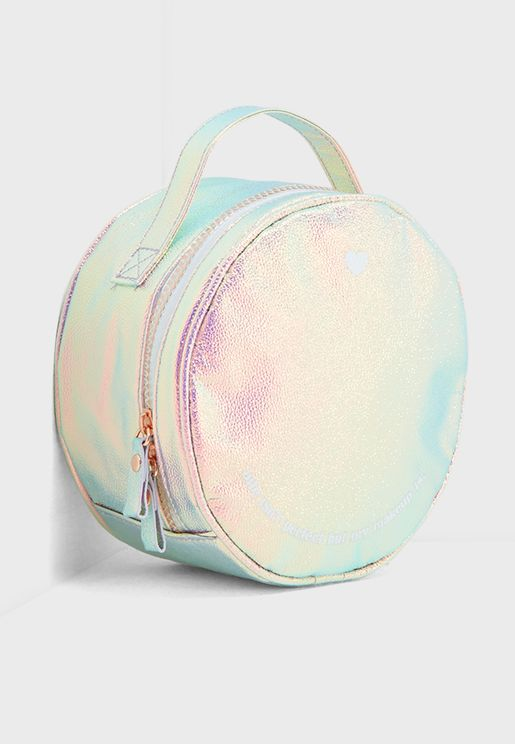 Round Cosmetic Bag