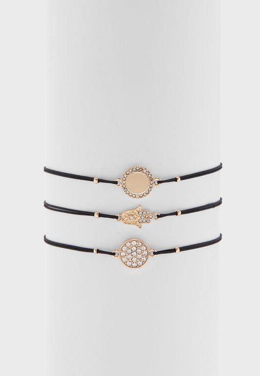 Multipack Eleinia Bracelets