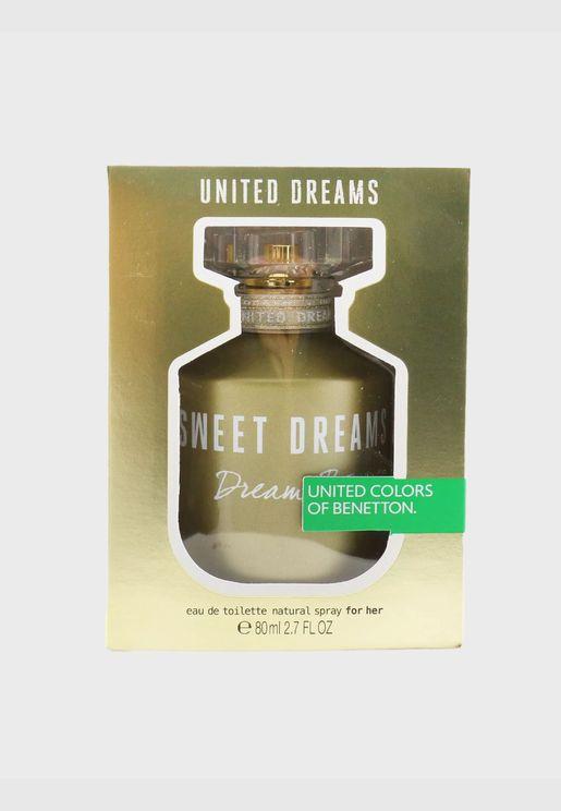 United Dreams Sweet Dreams ماء تواليت سبراي