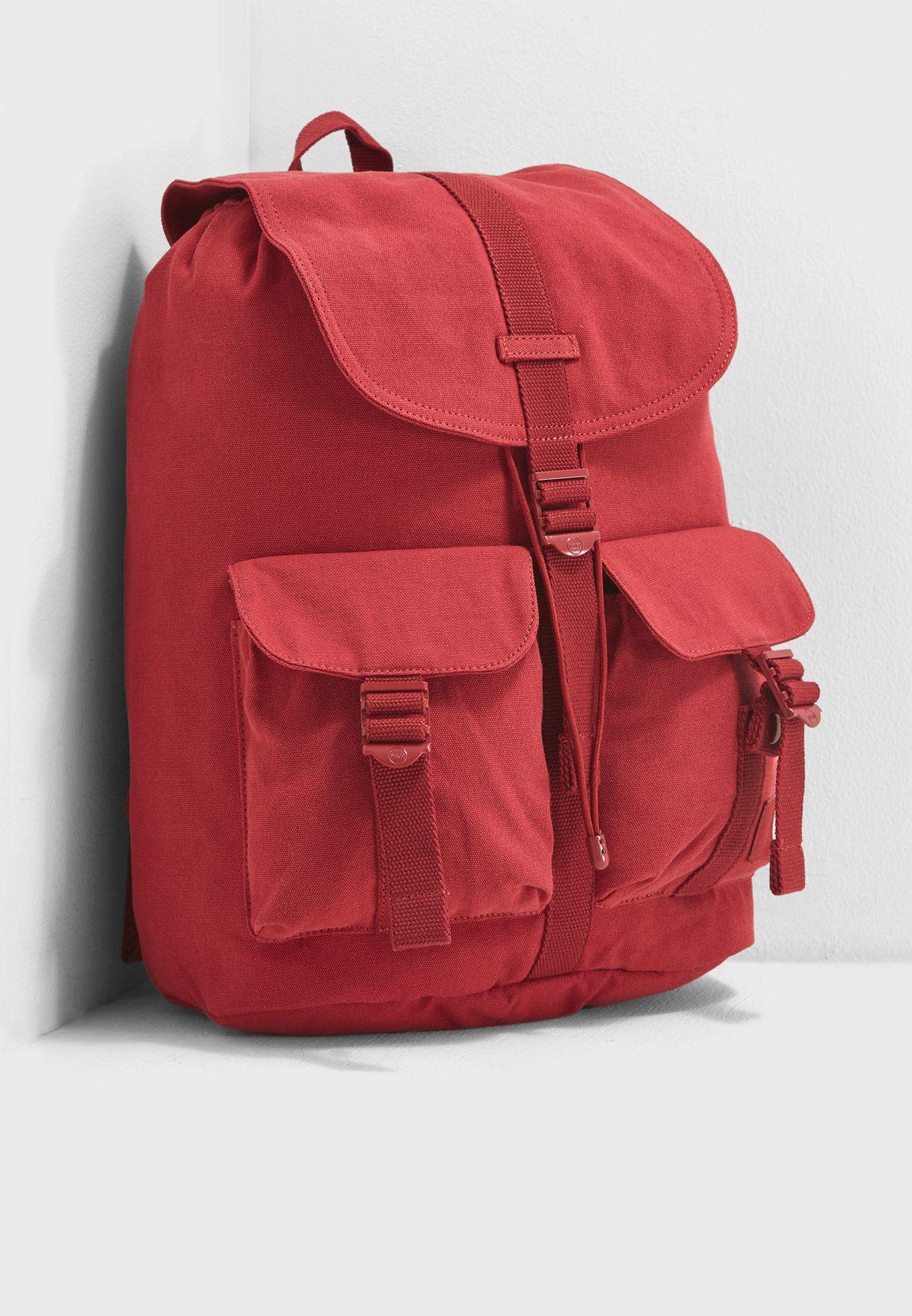 67b4ae787 Shop Herschel red Dawson Backpack 10233-01998-OS for Women in Qatar ...