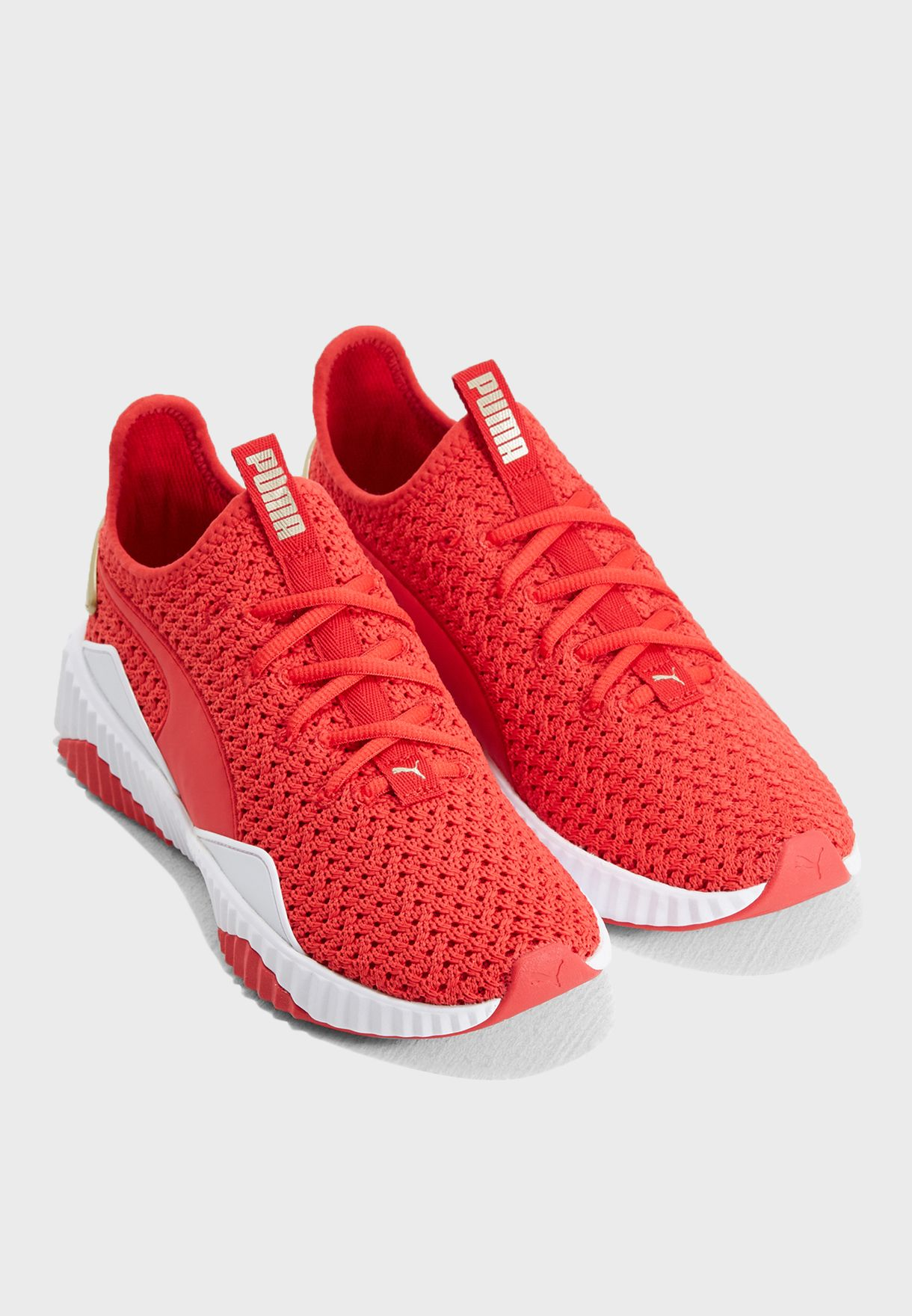 Shop PUMA red Defy Varsity 19114802 for Women in UAE - PU020SH97PXQ 34850f9cabf