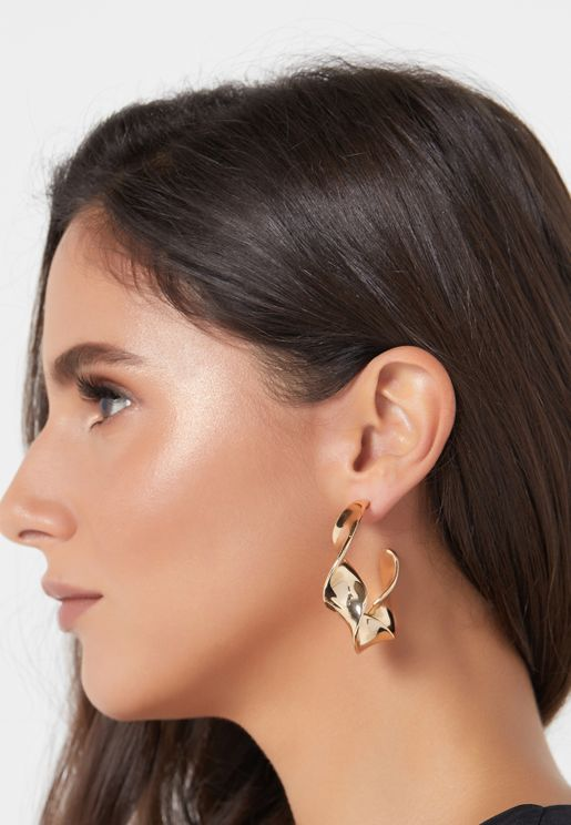 Vmtwist Creol Cuff Earrings