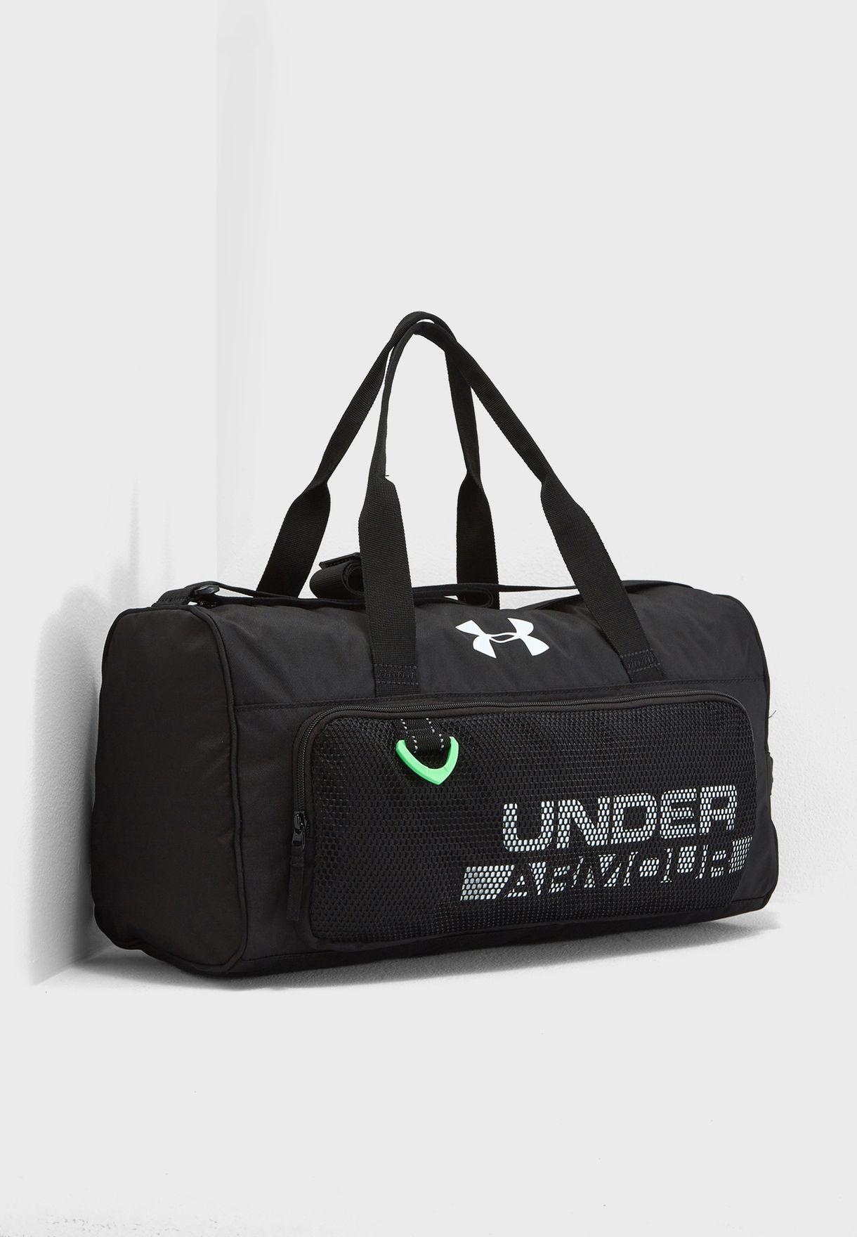 290a97426eb0 Shop Under Armour black Kids Logo Duffel Bag 1308787-001 for Kids in ...