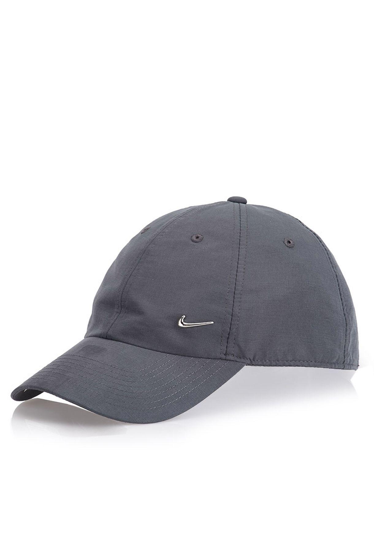 Shop Nike grey Heritage 86 Metal Swoosh Cap for Men in Kuwait - NI727AC97JFI d802eaf87868