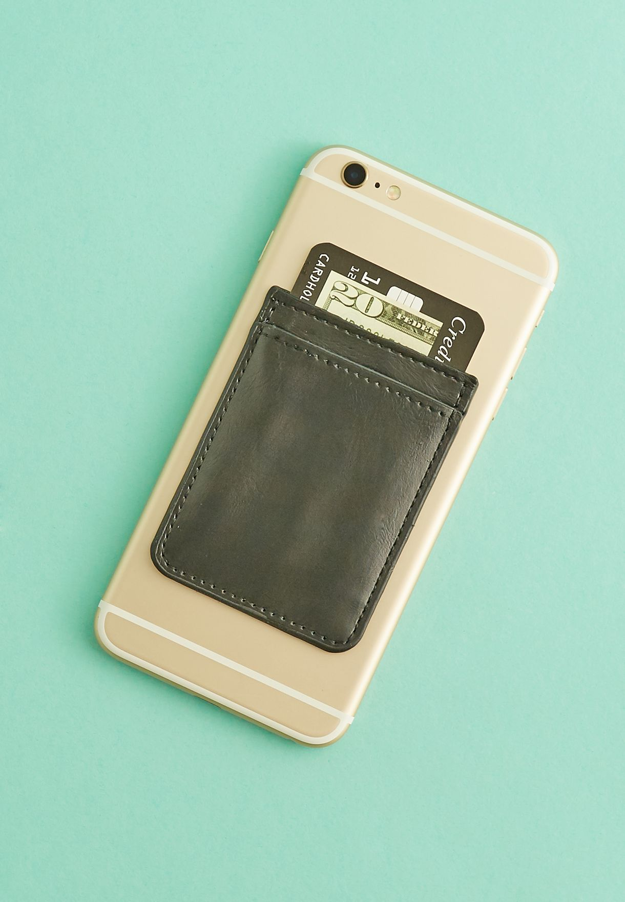 Leather Phone Pocket