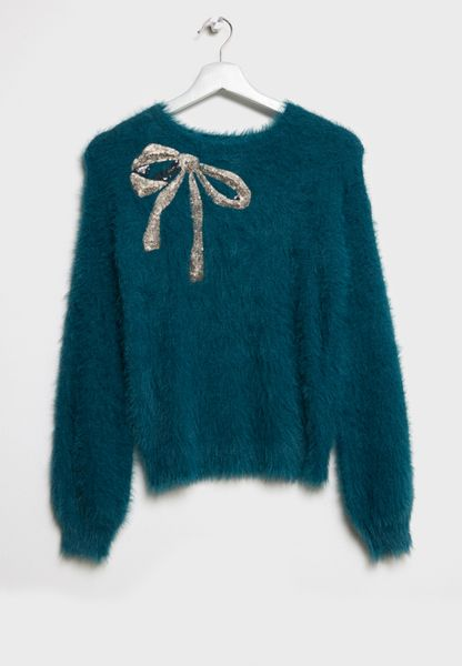 Tween Bow Sweater