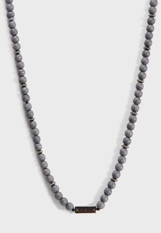 Bleeker Beaded Chain Necklace