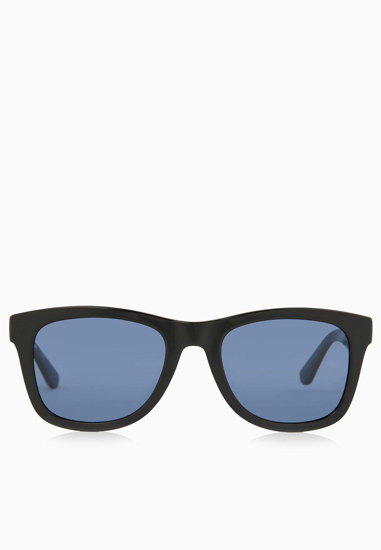 ee490e24dc3 Shop Lacoste black Live Rectangle Sunglasses L789S-001 for Men in ...