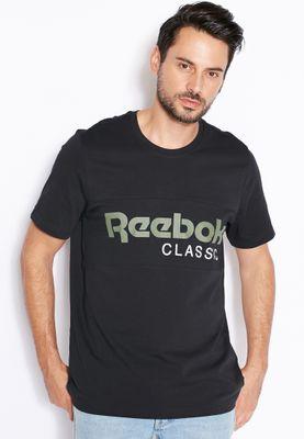 Reebok Archive Stripe T-Shirt
