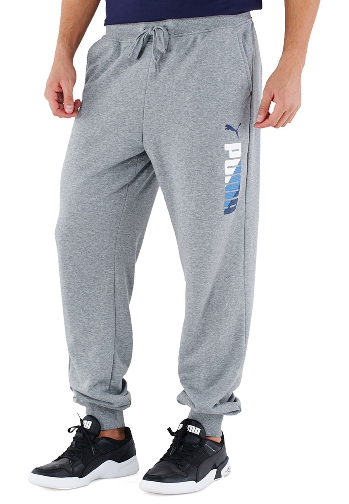 ccd89f0b6438 Shop PUMA grey Fun Sweatpants 83221203 for Men in Kuwait - PU020AT97IAO