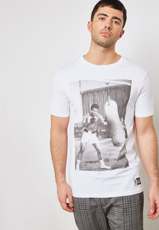 Muhammad Ali Crew Neck T-Shirt