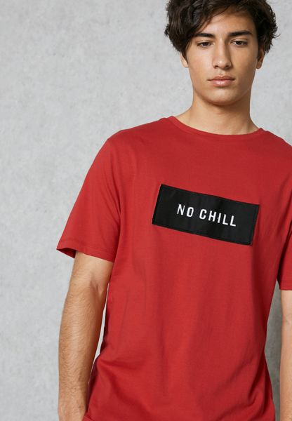 No Chill Crew Neck T-Shirt