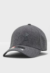 8f3ed4ad569 Shop Under Armour grey Coolswitch Logo Cap 1291856-001 for Men in Saudi -  UN700AC97TTU