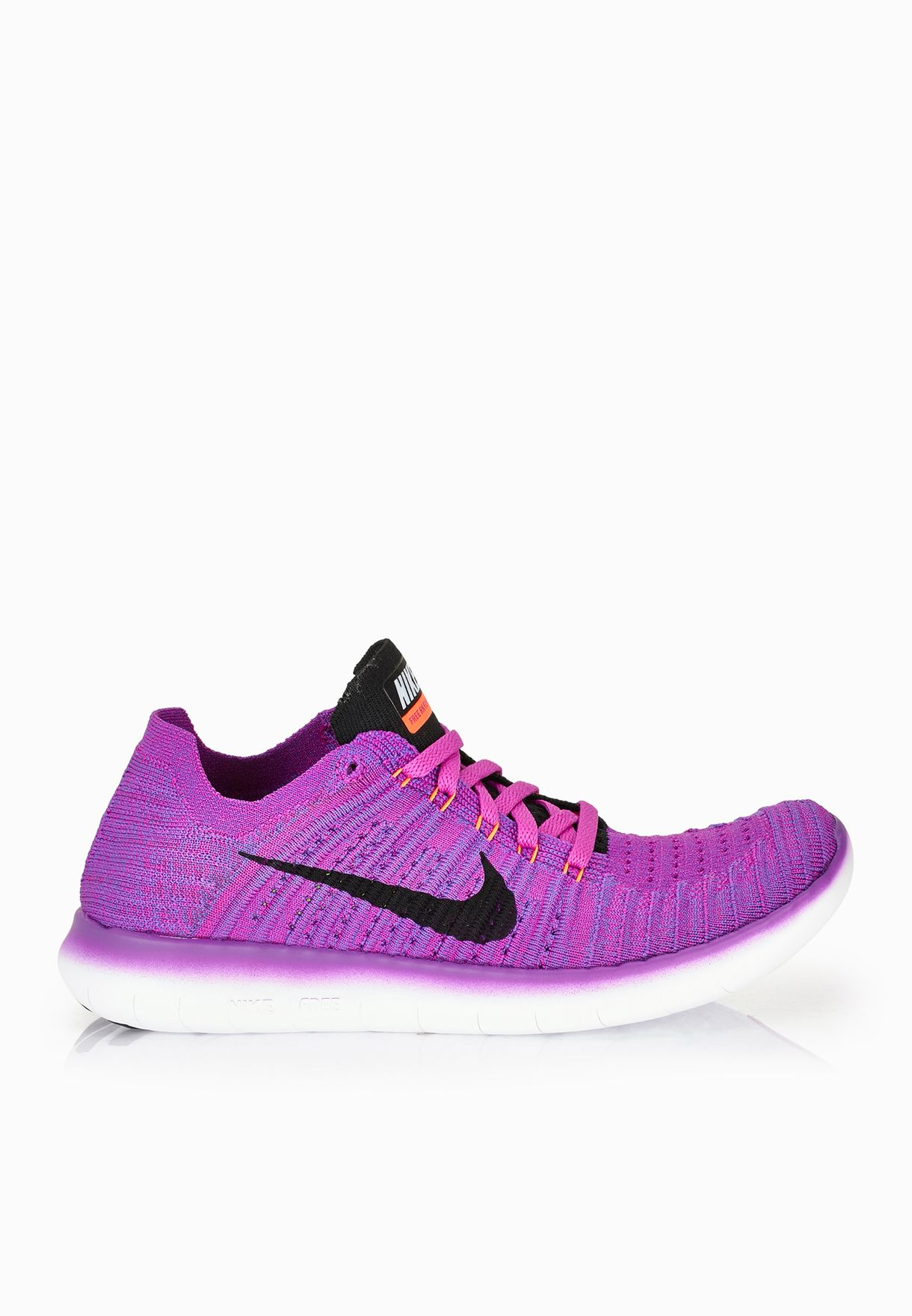 6ca3741e688e Shop Nike purple Free Run Flyknit 831070-501 for Women in UAE ...