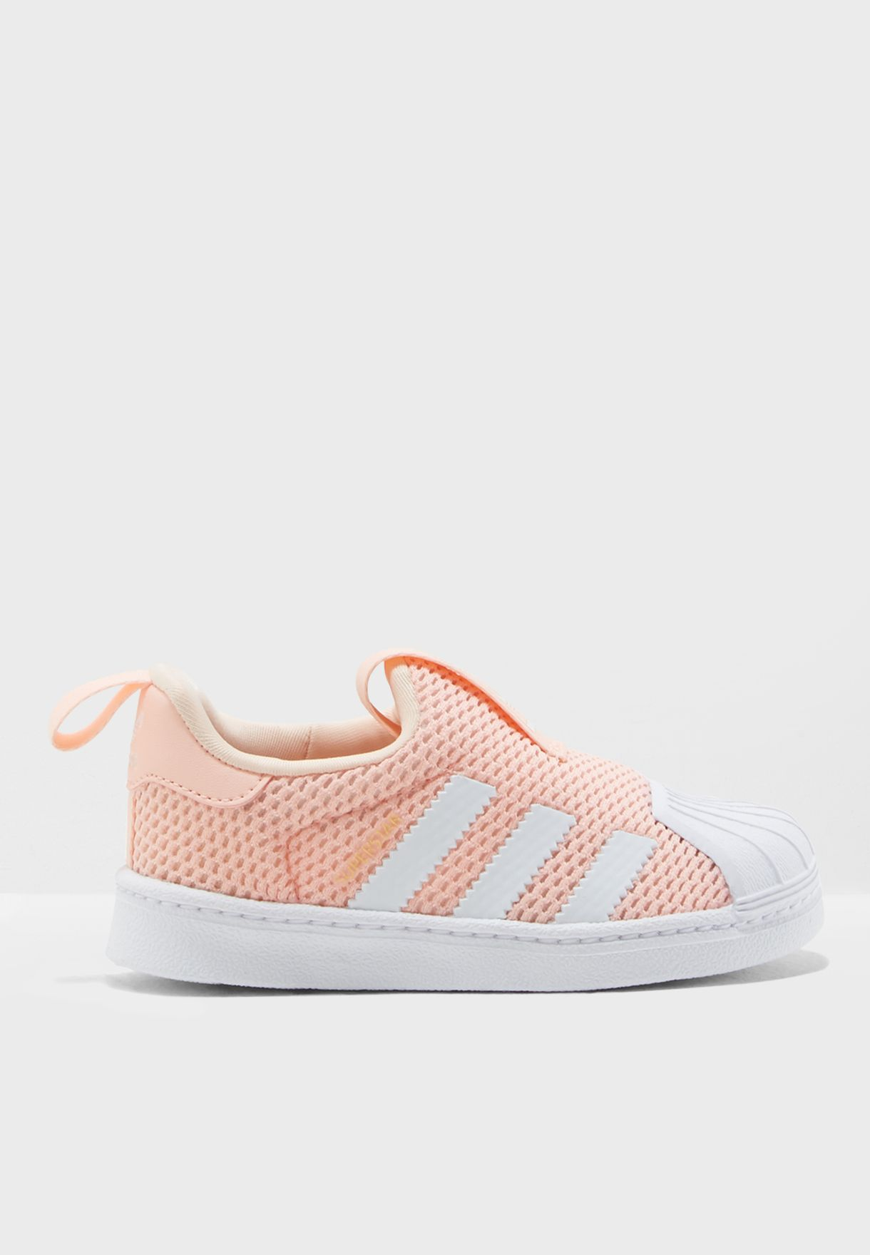 Shop adidas Originals pink Infant Superstar 360 B37253 for Kids in ... d481b55b2