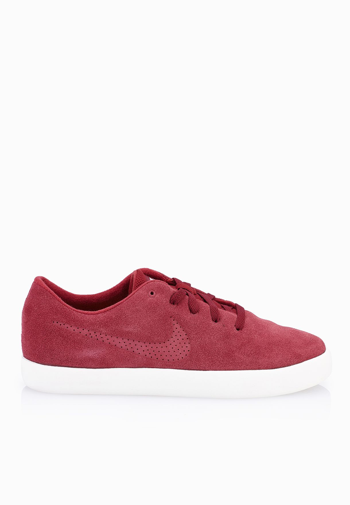 35a8922201de Shop Nike red Essentialist Leather 819811-661 for Men in Saudi -  NI727SH97XJM