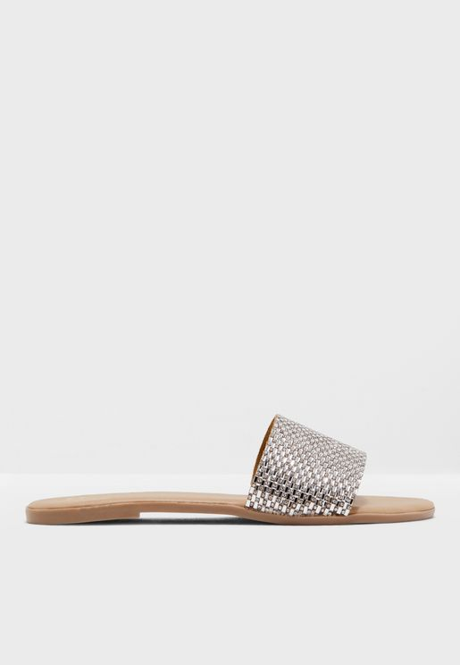 Lindaa Di Crystal Band Mule