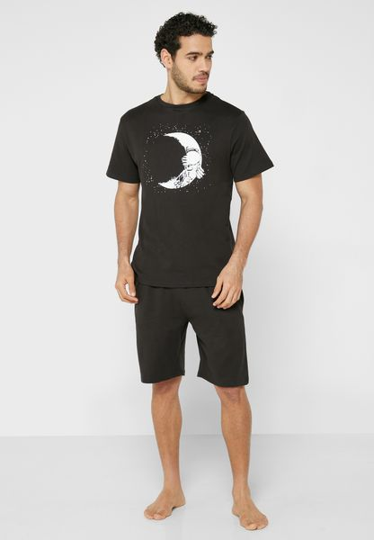 Spaceman Shorts and T-Shirt Set