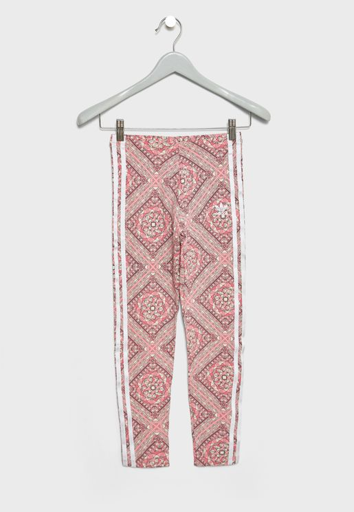 Youth Graphic Leggings