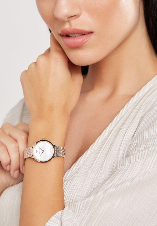 AR11157 Modern Slim Dress Watch