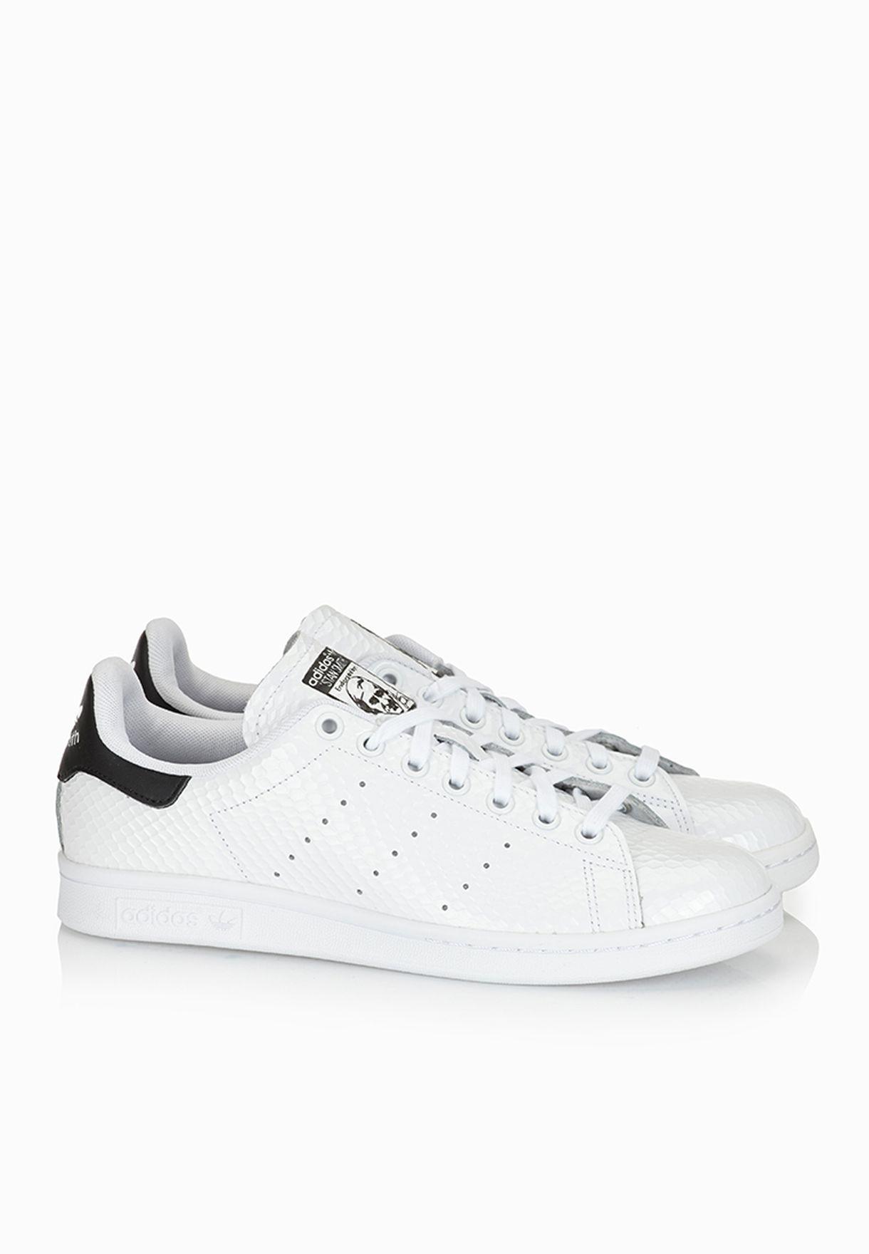 Shop adidas Originals white Stan Smith Sneakers B35442 for Women in Qatar -  AD478SH97XTE d0cbf33e4e