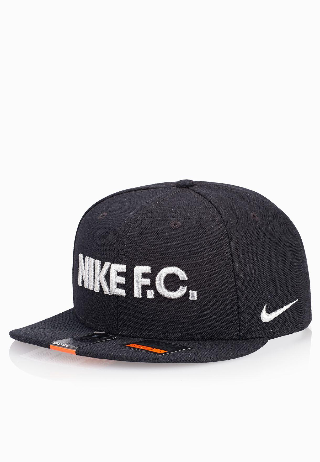0a095bbf14c Shop Nike black FC True Snapback Cap 728922-010 for Men in Oman ...