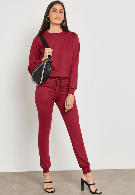 Essential Sweatshirt Joggers Set
