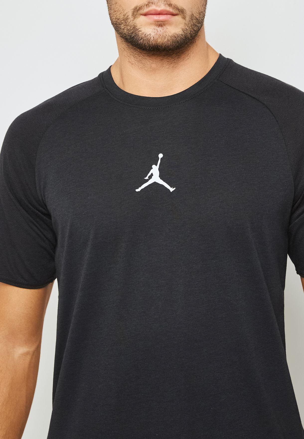 7a4752539882 Shop Nike black Jordan 23 Alpha T-Shirt 889713-013 for Men in Saudi ...