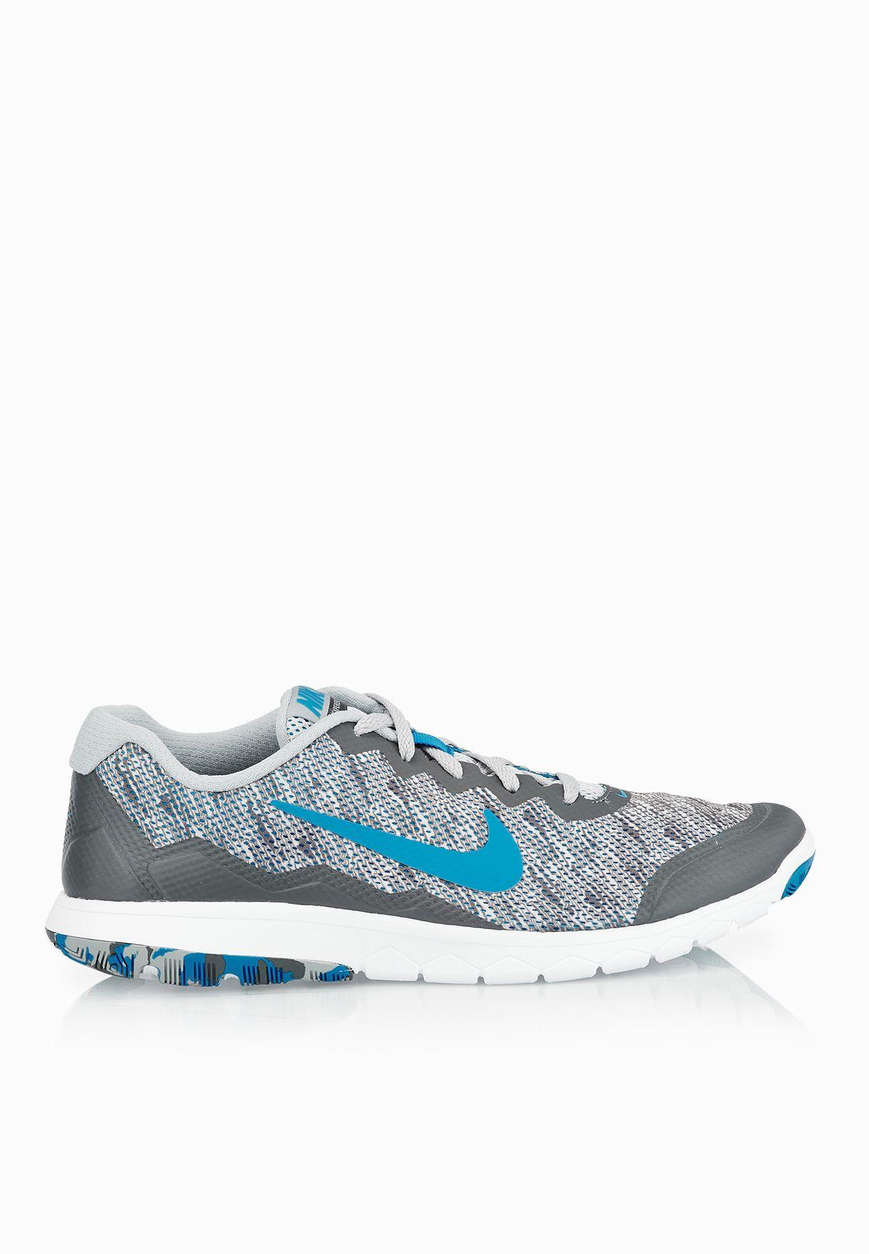 4b7977dfa6e3 Shop Nike grey Flex Experience RN 4 PREM 749174-018 for Men in UAE ...