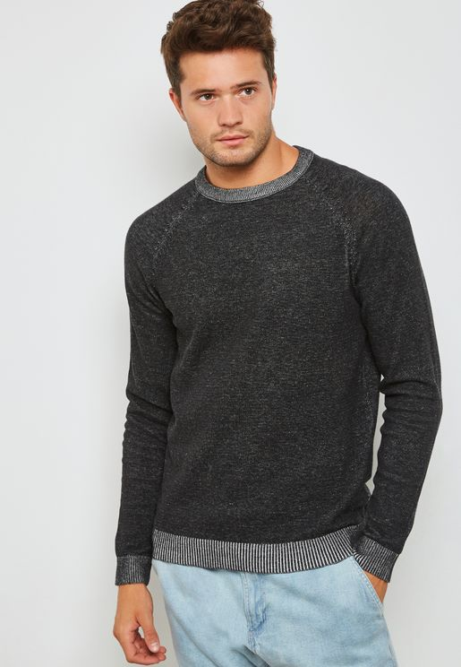 Plaited Knitted Sweater
