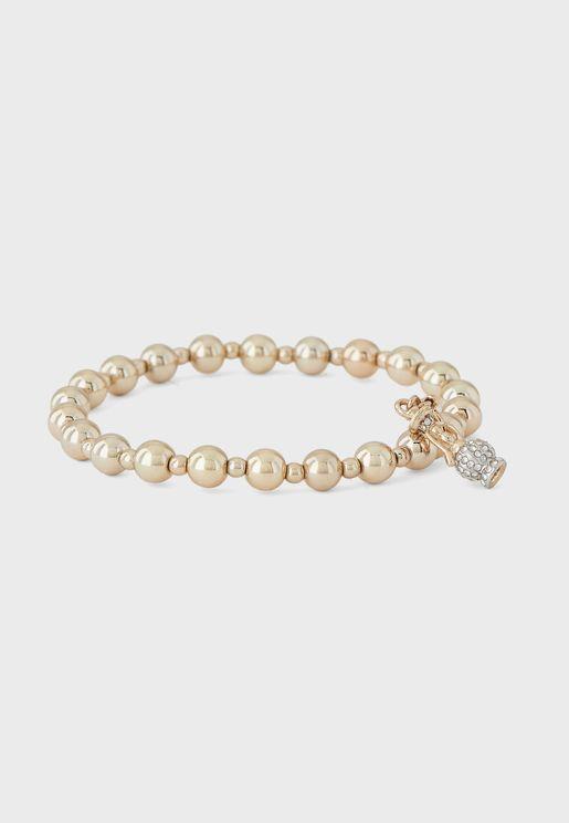Shisha Pipe Charm Bracelet