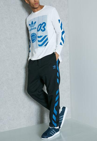 Shop adidas Originals black NYC Taper Sweatpants BK7256 for Men in Saudi -  AD478AT97BQW