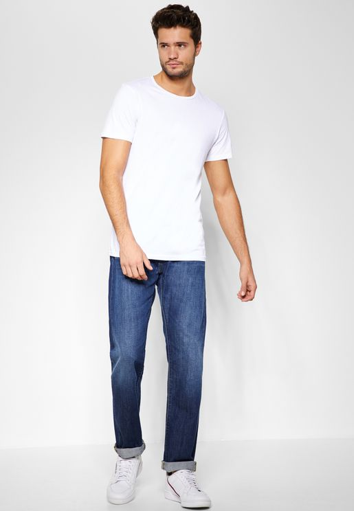 ED-80 Slim Fit Tapered Jeans