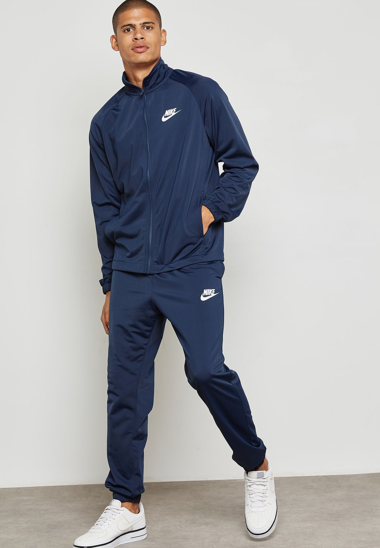 352daa519 Shop Nike navy Basic Tracksuit 861780-451 for Men in UAE - NI727AT97MMK