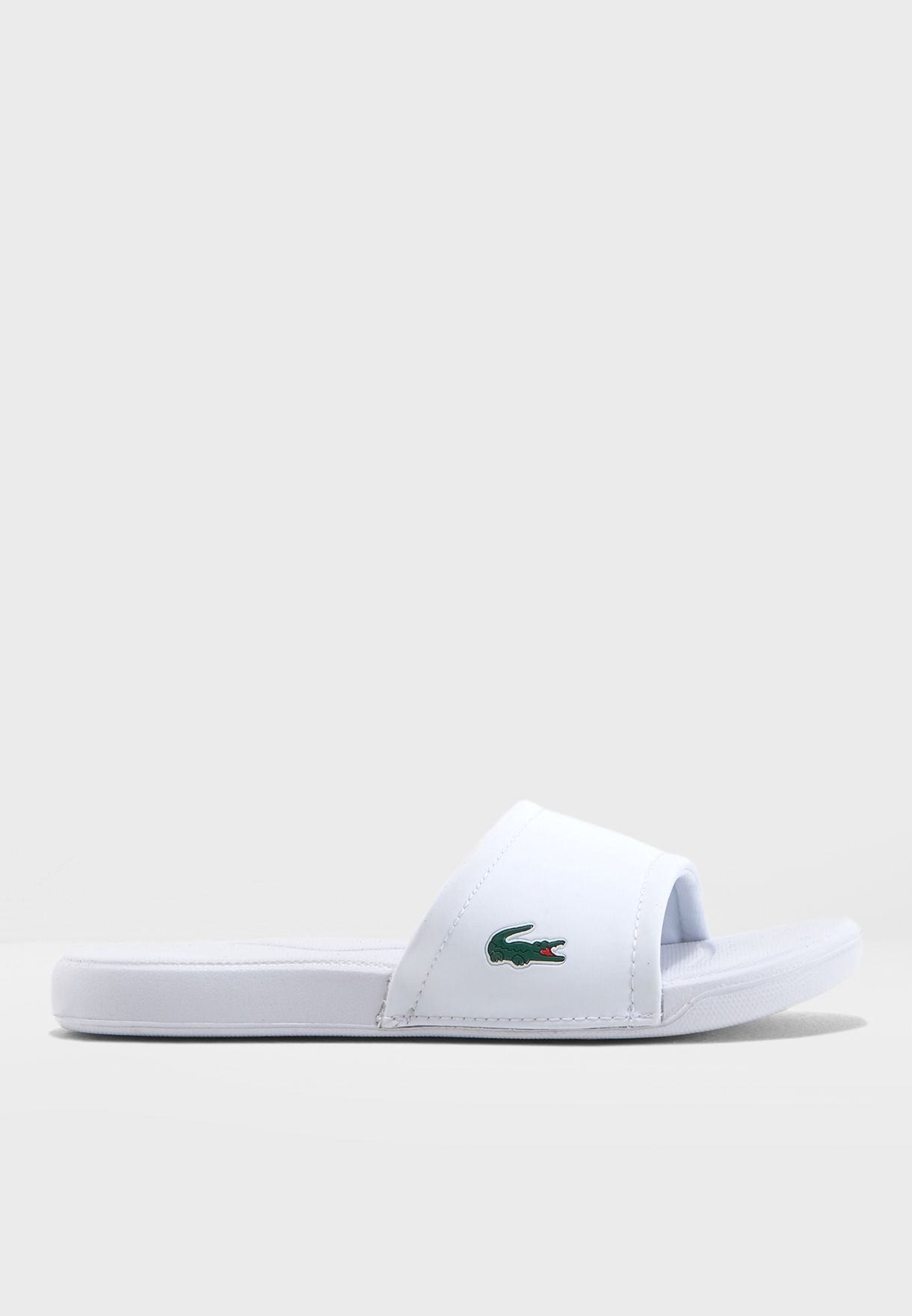 646ccb396 Shop Lacoste white Youth L.30 118 1 Slip On 35CAJ0011-21G for Kids ...