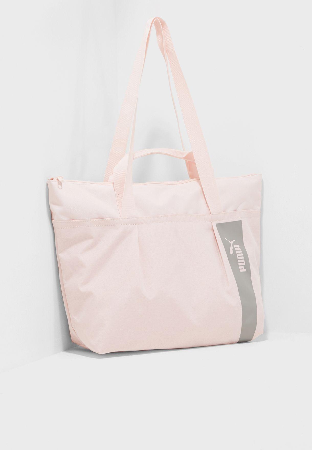 32fc932053 Shop PUMA pink Core Style Large Shopper 7513607 for Women in Saudi -  PU020AC97JHQ